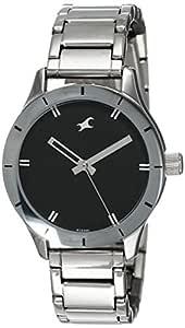 Fastrack Monochrome Analog Black Dial Women's Watch - 6078SM06