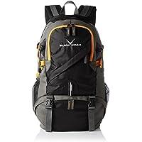 Black Crevice–Zaino Hiking, Unisex, Rucksack Hiking, nero,