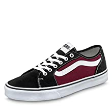 Vans FILMORE Decon, Scarpe da Ginnastica Uomo, Multicolore ((Canvas) Black/Port Royale W7Q), 43 EU