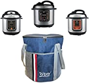 Wtrtr 6 Liters Smart Pot Instant Programmable Electric Pressure Cooker,18 Smart Programs,Rice Cooker,pressure