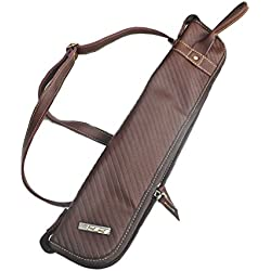 Padded Drum Stick and Percussion Bag Case (Brown)