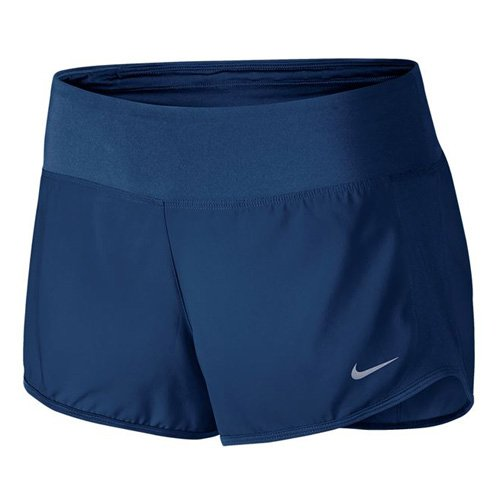 Nike Crew kurze Hosen für Damen, Blau (Binary Blaue / Binary Blaue), S (Running Nike Frauen Hose)