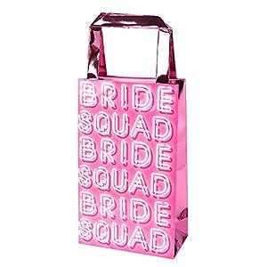Neviti 775967 Bride Squad-Party Bag-5 Pack, Rosa, 20 x 12 x 6