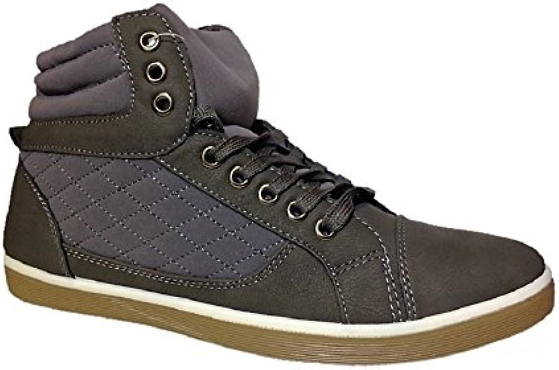 Botin Casual Gris 40-45  Zapatos de moda en línea Obtenga el mejor descuento de venta caliente-Descuento más grande