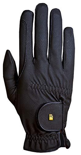 Roeckl Sports Roeck Grip Winter Handschuh, Unisex Reithandschuhe, Schwarz, 7,5