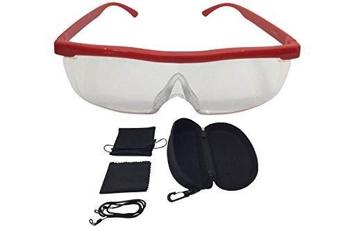 Vergrößerungsbrille Lupenbrille Zauberbrille Lupe auf der Nase optische Vergrößerung auf 200%...
