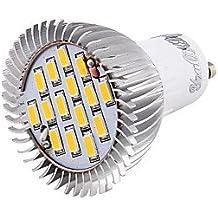 7W GU10 Focos LED MR16 15 SMD 5630 700 lm Blanco Cálido / Blanco Fresco Decorativa AC 100-240 / AC 85-265 V 1 pieza ( Color de Luz : Blanco Frío )
