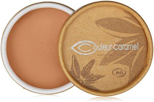 Couleur Caramel Fond de teint Minéral poudre libre 03 Beige abricot 6g
