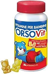 Montefarmaco Orsovit Caramelle Gommose Vitamina Bb Senza Glutine 60 Pezzi - 120 Gr