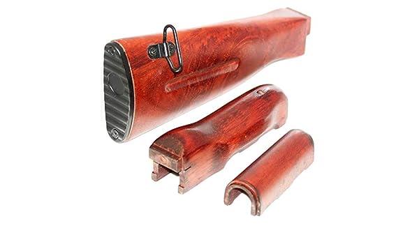 Sonstige Airsoft Softair APS Begrenzungsscheibe und Stock Holz Kit für AK-Serie