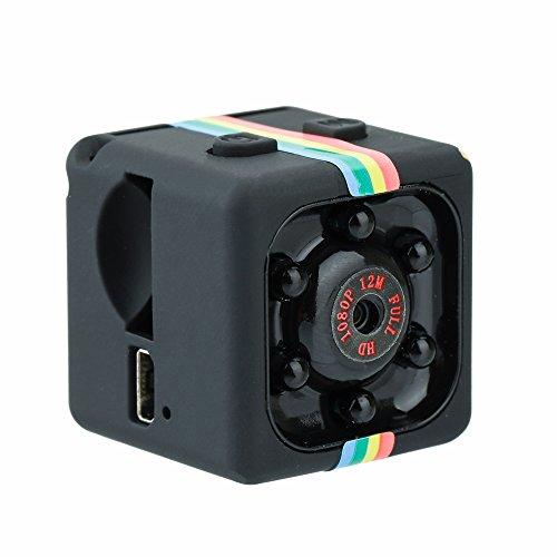 Goolsky Mini SQ11 HD 1080 P cámara DV DVR FOV 120 ° deporte visión nocturna infrarroja para RC Car Racing Quadcopter Drone