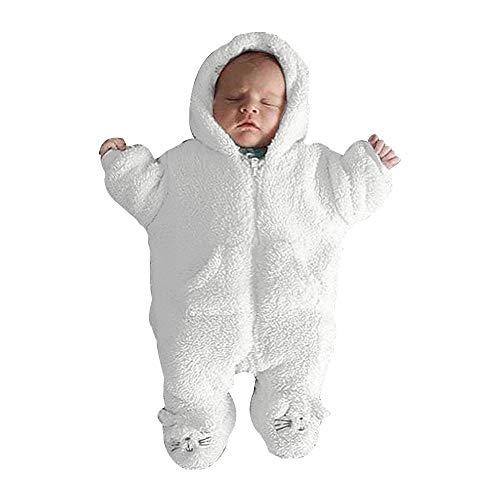 Für Kostüm Monate 03 Neugeborene - Sumeiwilly-Baby Jungen Mädchen Strampler 0-24 Monat Kapuzen-Overall Overall Kleidung Herbst und Winter Outfits für Neugeborene