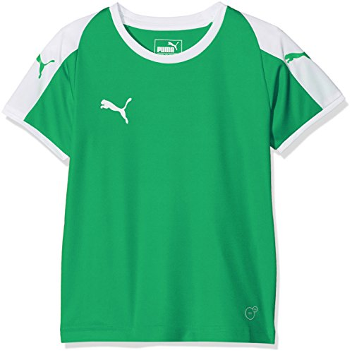 PUMA Kinder Liga Jersey, Pepper Green White, ()