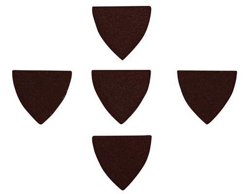 Agrartechnik-Graf Schleifpapier für Finger Schleifpad P60 Körnung 5er Set für Black & Decker Multitool
