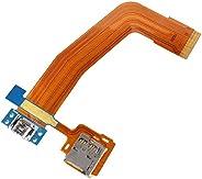 قطع غيار الهاتف المحمول IPartsBuy كابل منفذ الشحن المرن لسامسونج جالاكسي تاب S 10.5 / T800 الملحق