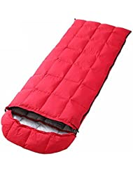 Sacos De Dormir Al Aire Libre Luces De Invierno Cálido Envolvente Plumas Nieve Alpino Camping Bolsas De Dormir, Rojo