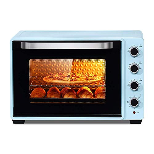 MUBAY Countertop Toaster Oven,Large-Capacity Household and Commercial Oven Includes Bake Pan, Broil Rack and Fork, Toasted Bread,2200w Cooking