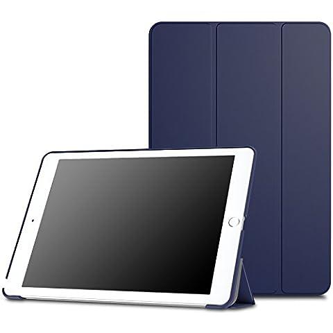 MoKo iPad Pro 9.7 Funda - Ultra Slim Lightweight Función de Soporte Protectora Plegable Smart Cover Durable (Auto Sueño / Estela) para Apple iPad Pro 9.7 Pulgadas 2016 Tableta, Índigo