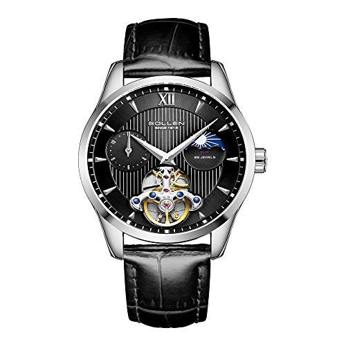 ZYWTZ® Mechanische Uhr Für Herren Hochwertiges Lederband