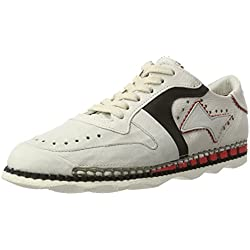 A.S.98 Damen Similar Sneaker, Weiß (Artic/Artic/Nero/Fire/Bianco), 38 EU