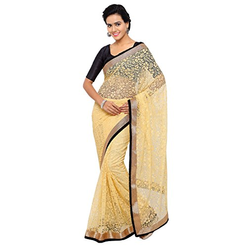 Aruna Sarees Brasso Saree (Madhuri Beige-786_Beige)