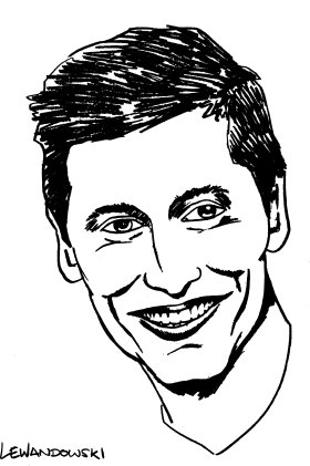 Mister Merchandise Cooles Herren T-Shirt Robert Lewandowski Weiß