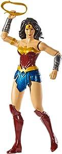 DC Justice League Figura de Acción 30 cm Wonder Woman, Juguetes Niños +3 años (Mattel GDT53)