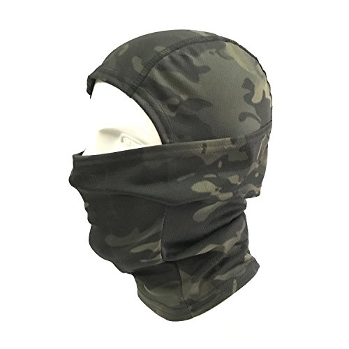Men's Skullies & Beanies 2 Hole Black Balaclava Swat Windproof Tactical Paintball Airsoft Army Military Bicycle Helmet Liner Protection Full Face Mask With Traditional Methods Apparel Accessories