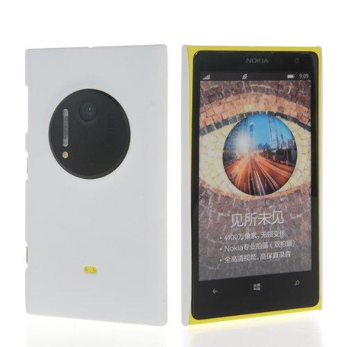 MOONCASE Funda Carcasa Tapa Case Cover Para Nokia Lumia 1020 Blanco