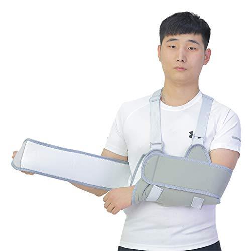 IPOTCH Elastische Erwachsene Schulter Stütze Immobilizer Gürtel/Brace/Sling - Schwarz, 13 cm -