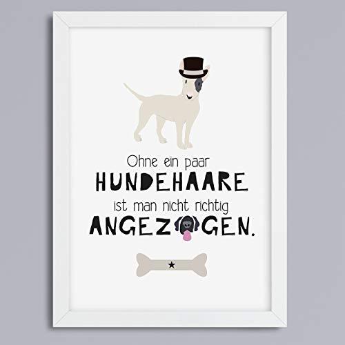 Hundehaare - Kunstdruck ohne Rahmen