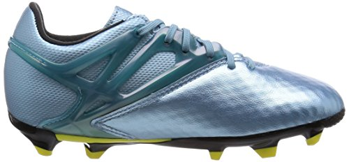 adidas - Messi 10.1 Fg/ag, Sneaker Bambino blue (Matt Ice Met.F12/Bright Yellow/Core Black)