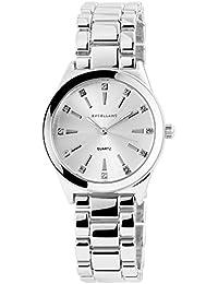 Excellanc 180522500040 - Reloj de pulsera analógico para mujer con correa de metal, diámetro de 32 mm