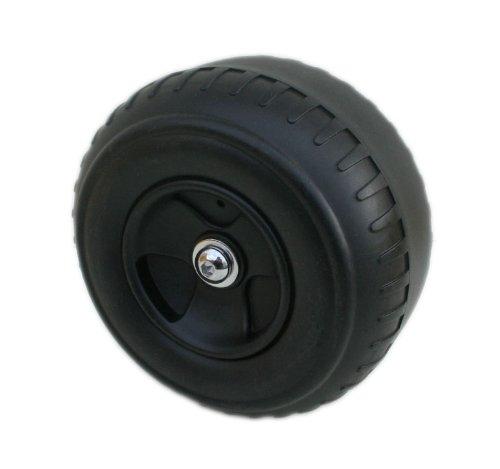 davtus 170 mm Kunststoff Reifen mit Achsschraube für Trike Dreirad Gokart