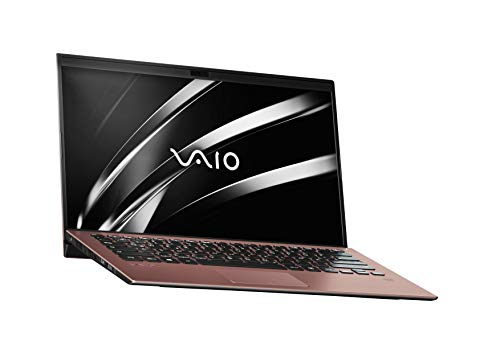 VAIO SX14 Laptop 35,56 cm (14 Zoll) (Full-HD IPS-Display, Intel Core i7- 8565U, 512 GB SSD, 16GB LPDDR3 RAM, Windows 10 Pro, LTE, W-LAN, Bluetooth, HDMI, USB 3.1, Webcam) Notebook, Braun