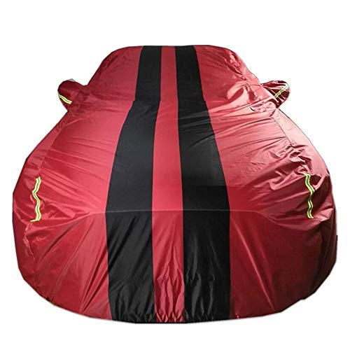 NUANXIN Telo antigelo autoTelo Impermeabile per Auto Sostituzione Compatibile con copriauto Jaguar Serie XJ, XF, XK, XE Abbigliamento, F Pace, I Pace, E Pace, F Type,Red,EPACE