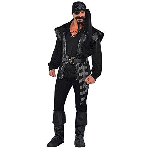 Amscan International Dark Sea Halunke Pirat Kostüm