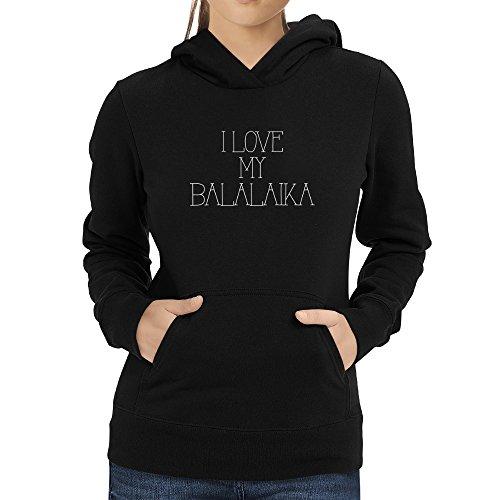 Eddany I love my Balalaika Damen Hoodie