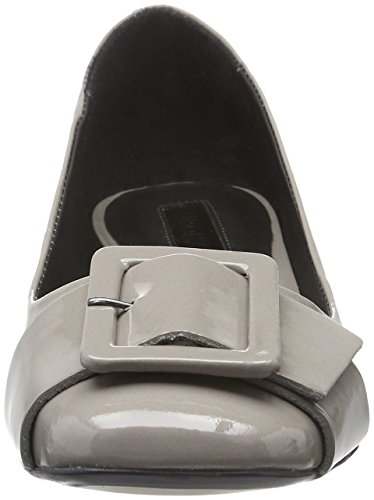 Bronx Paolo, Ballerines femme Gris - Grau (Light Grey 09)