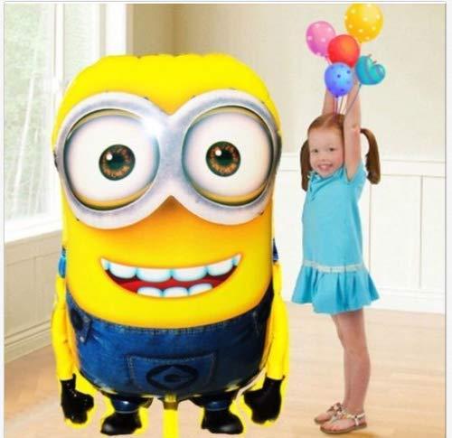 Kindergeburtstag 78x76cm XL Ballon Geburtstag Minion Riesiger Disney-Charakter-Folien-Ballon - Kinderparty-Ballone ()
