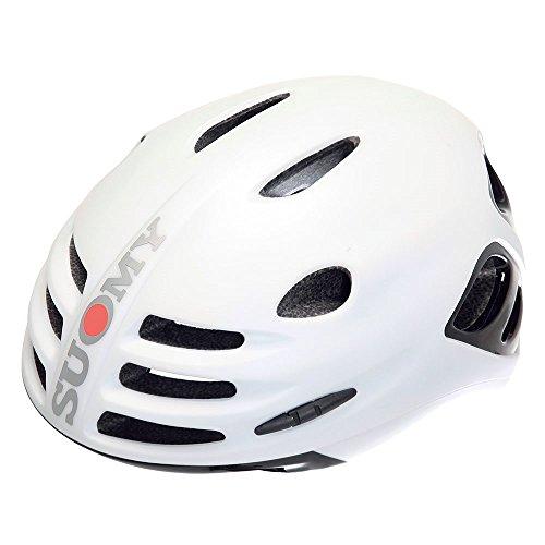 Suomy Casco bici Sfera bianco opaco / nero lucido taglia M (Caschi MTB e Strada) / Road helmet Sfera matt white / glossy black size M ( Mtb and Road Helmet)