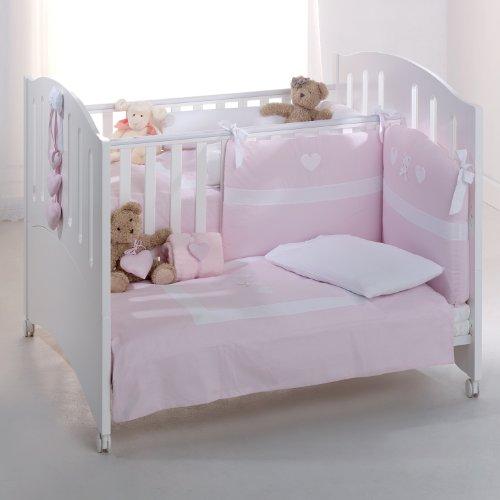 Zwillingsbett Gemini Kinderbett Für Zwillinge Buchenholz Weiß Azzurra Design  U2013 Babybett Buche Holz Weiß Massiv U2013 Smash G8.de