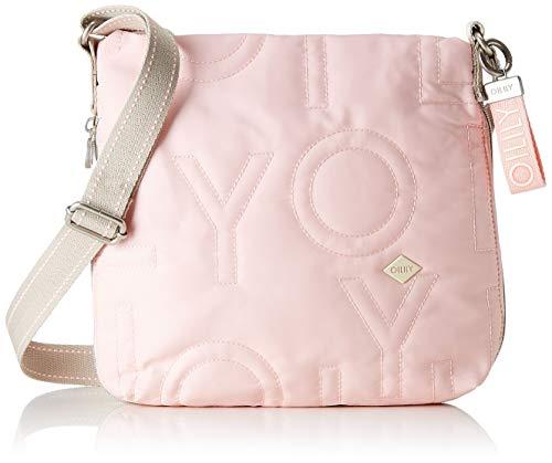 Oilily Damen Spell Shoulderbag MHz Schultertasche, Pink (Pink (Rose), 7.0x25.0x28.0 cm