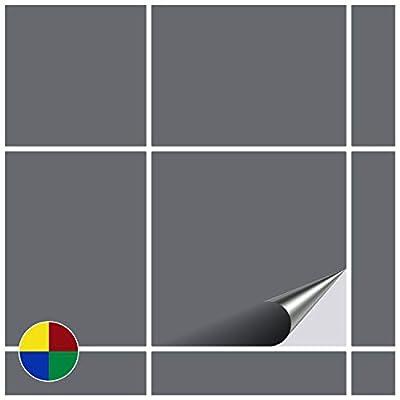 FoLIESEN - Fliesenaufkleber - weiss - 15cm x 15cm