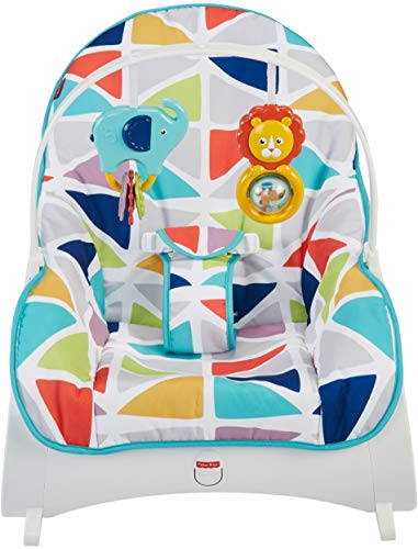 Fisher-Price Infant-To-Toddler Rocker - Clear