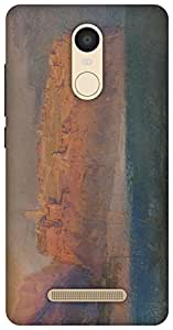 The Racoon Grip Corsica hard plastic printed back case / cover for Xiaomi Redmi Note 3