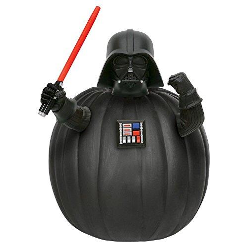 Pumpkin Bastel Kit Kürbis Dekorations Set mit Figur Steck Teile Star Wars Darth Vader