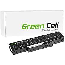 Green Cell® Standard Serie A32-K72 Batería para Asus Ordenador (6 Celdas 4400mAh 10.8V Negro)