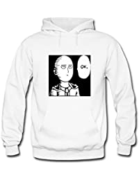 One Punch Man Saitama OK For Mens Hoodies Sweatshirts Pullover Outlet