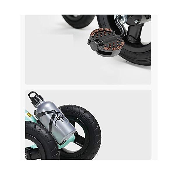 GSDZSY - Children Kids Tricycle 3 Wheel Bike,High Carbon Steel Body, EVA Wheel, Seat And Handlebars Adjustable,2-6 Years,B GSDZSY  9